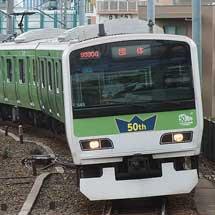 「みどりの山手線」を使用した団体臨時列車運転