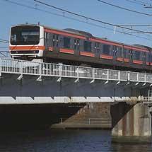205系と209系が武蔵野貨物線などで試運転