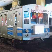 弘南鉄道で忘年列車が運転される