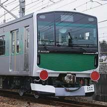 EV-E301系「ACCUM」が甲種輸送される
