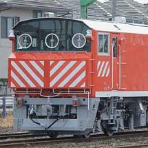 JR西日本キヤ143-2が甲種輸送される
