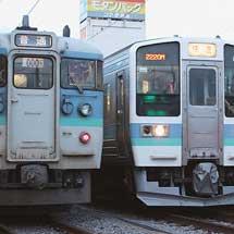 飯田線での長野色115系運用終了,211系運用開始