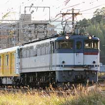 東京メトロ1000系第13編成が甲種輸送される
