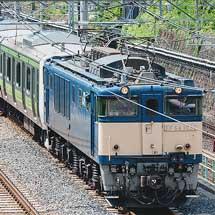 E231系500番台520編成が新津へ配給される