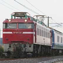24系による団体臨時列車運転