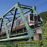 日本の鉄道遺産新幹線に連なる系譜 −飯田線・天竜川橋梁−