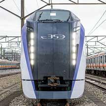 E353系,12月23日から営業運転を開始