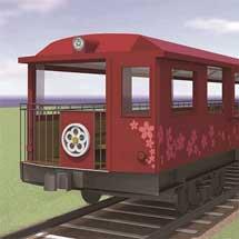 京都鉄道博物館「SLスチーム号」の新たな客車を導入