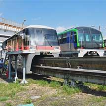 東京モノレールで昭和島車両基地の一般公開