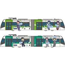 鉄道コレクション富山ライトレール 鉄道むすめラッピングC:黄緑/D:緑
