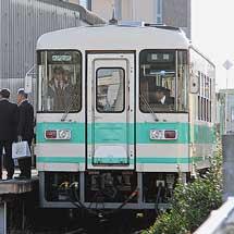 紀州鉄道でKR301が営業運転を開始