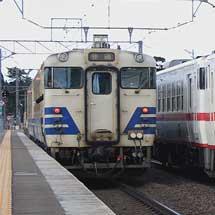 秋田車両センター所属のキハ40系,津軽線での運用開始