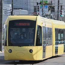 福井鉄道福武線とえちぜん鉄道三国芦原線の相互乗入れが始まる