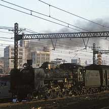 名古屋レール・アーカイブス所蔵のコダクローム作品から 東京オリンピック開催を前にした首都圏の鉄道情景その2 機関車の活躍を追って