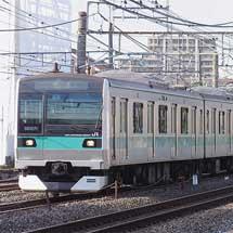 E233系2000番台マト9編成が長野総合車両センターから出場