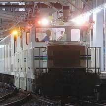 西武鉄道261編成が回送される