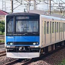 東武鉄道60000系61605編成による乗務員訓練