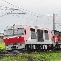 DF200-223,日中に関西本線で試運転