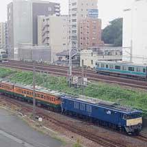 湘南色の115系8両が長野総合車両センターへ