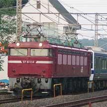 415系K537編成が土崎へ
