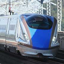仙台—金沢間直通の臨時列車運転