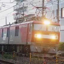 E721系1000番台P4−3・P4−4編成が甲種輸送される