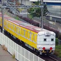東京メトロ1000系1139編成が甲種輸送される