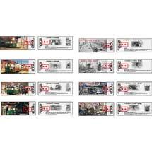 阪堺電気軌道「モ161形車シリーズ乗車券」4種類と「番外編」4種類を新発売
