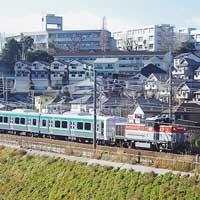 E721系1000番台8両が逗子から仙台車両センターへ