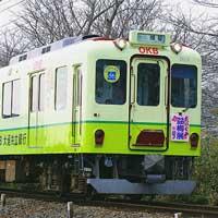 養老鉄道「たにぐみ盆梅展号」に「OKBトレイン」が充当される