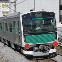 EV-E301系が甲種輸送される