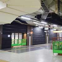 上野駅でラウンジ「プロローグ四季島」新設工事がすすむ