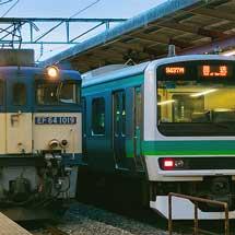 E231系マト138編成が長野へ