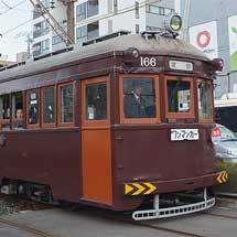 阪堺電軌でモ166による貸切列車運転