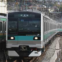 E233系2000番台マト19編成が登場