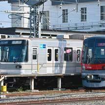 東京メトロ日比谷線03系第13編成が廃車回送される