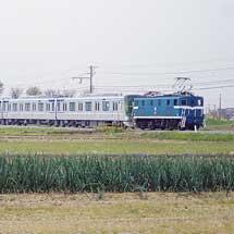 東京メトロ13000系第4編成が甲種輸送される