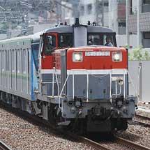 東京メトロ16000系第34編成が甲種輸送される
