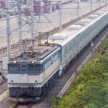 東京メトロ13000系第6編成が甲種輸送される