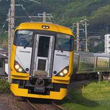 E257系500番台の団体臨時列車が運転される