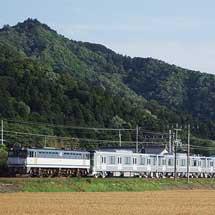 東京メトロ13000系第7編成が甲種輸送される