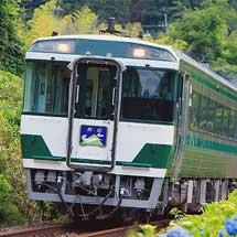 キハ185-17+キハ185-18が徳島地区定期列車に