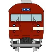 鉄道コレクション 国鉄419系(北陸本線・旧塗装)3両セットA