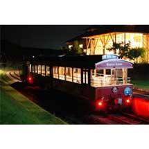 7月1日,碓氷峠鉄道文化むらで「夜汽車トロッコ」運転