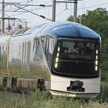 「TRAIN SUITE 四季島」夏の2泊3日コースの試運転が行なわれる