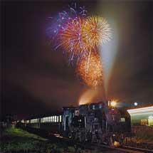 真岡鐵道で「SL夜行列車」運転