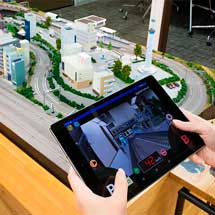 システムゼウス,カメラでジオラマ走行を楽しむ「ジオラマエクスプローラー」をクラウドファンディングで販売中