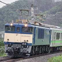 E127系V12編成が長野総合車両センターから出場