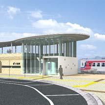 三陸鉄道大槌駅のデザインが決定