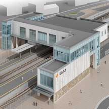 JR東海,東海道本線天竜川駅の橋上駅舎と自由通路の供用開始